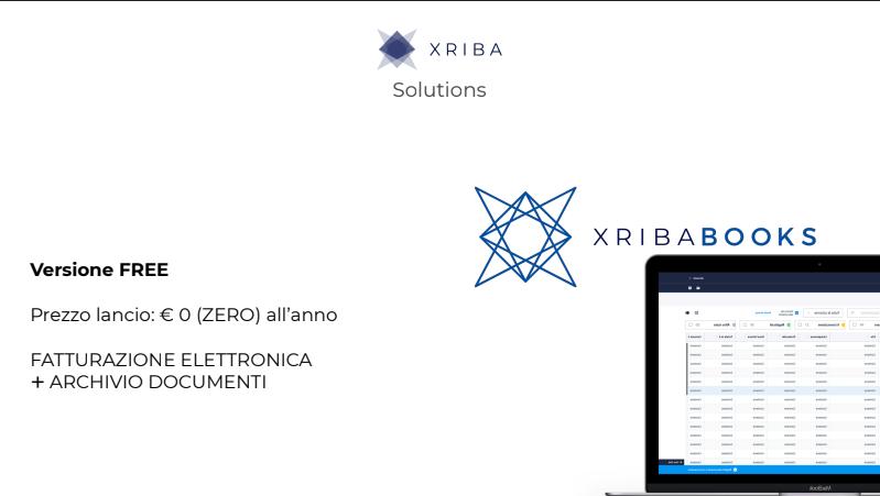 XribaBooks fatturazione elettronica gratis per tutto il 2019!